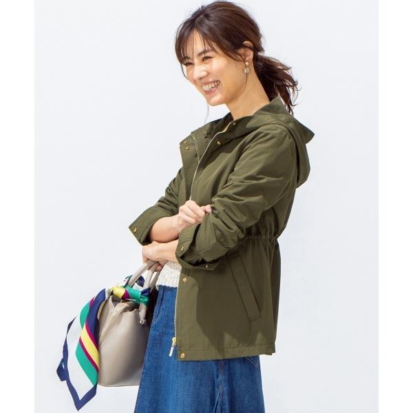 【洗える】コーティングタッサー ジャケット/組曲 S(KUMIKYOKU S)