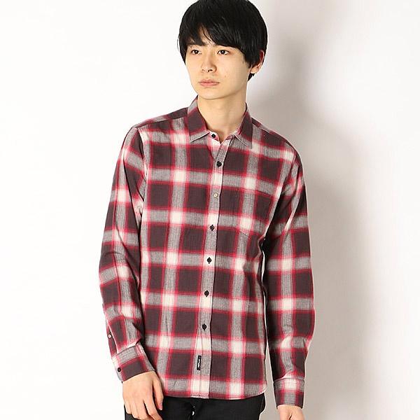 ヘリンボーンチェックシャツ/REPLAY(REPLAY)