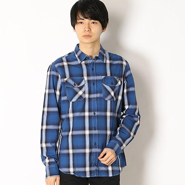 ヤーンダイド Wポケットチェックシャツ/REPLAY(REPLAY)