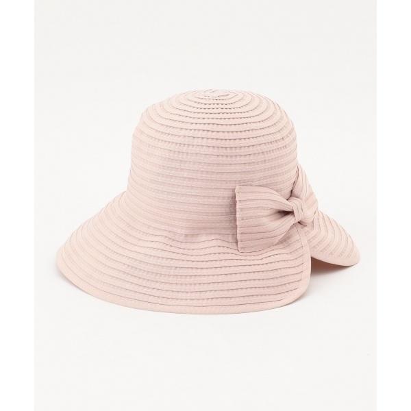 【洗える!】FOLDING RIBBON HAT ハット/トッカ(TOCCA)