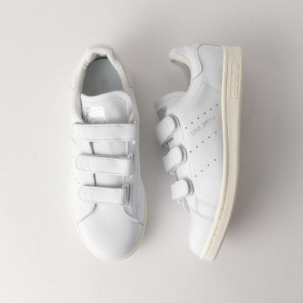 <adidas Originals(アディダス)>STAN SMITH コンフォート レザーベロクロ/ビューティ&ユース ユナイテッドアローズ レディス(BEAUTY&YOUTH)