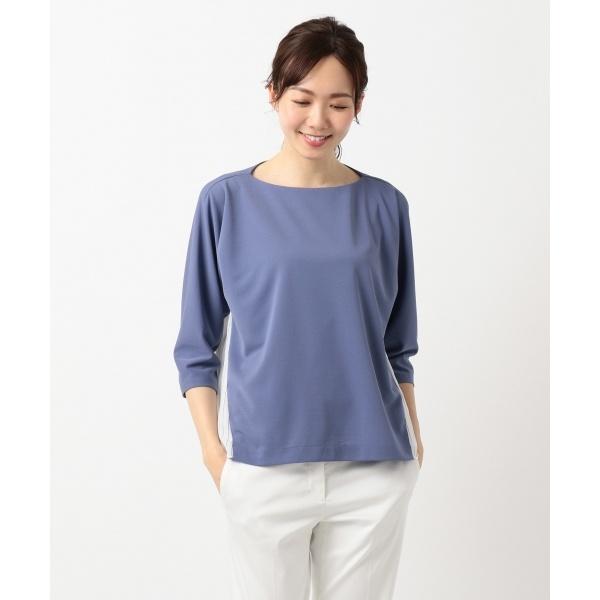 Fabric Combi Jersey 七分袖カットソー/アイシービー L(ICB L)