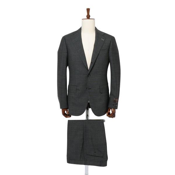SD:【RING JACKET×CANONICO×SHIPS】ピンヘッド スーツ(チャコールグレー)/シップス(メンズ)(SHIPS)