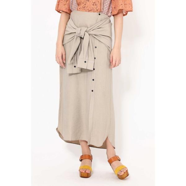 3WAYシャツスカート/ローズバッド(ROSE BUD)
