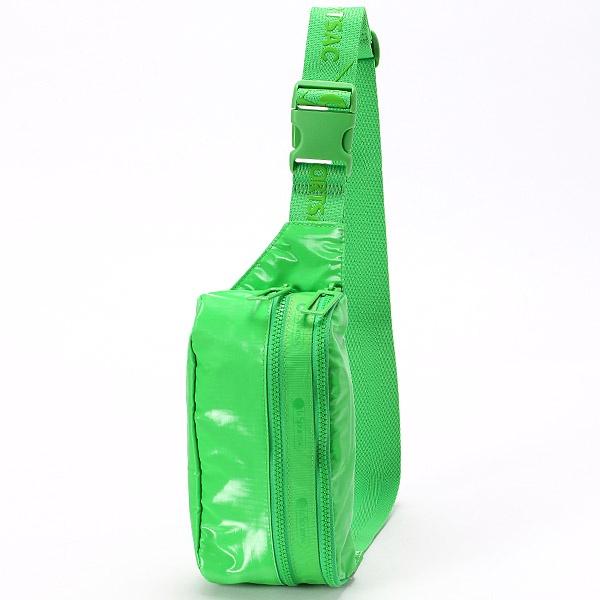 DOUBLE ZIP BELT BAG/クラシックグリーンエルピー/レスポートサック(LeSportsac)