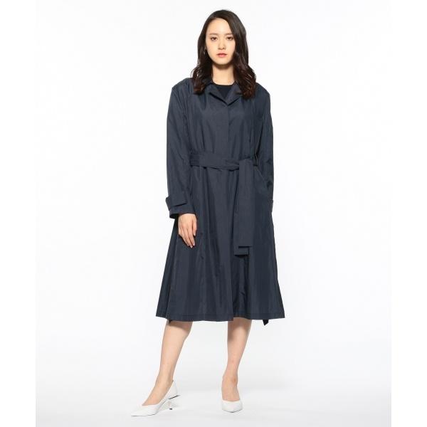 【2019SS インポート企画】ウオッシュドナイロン トレンチコート/カルバン・クライン ウィメン(Calvin Klein women)