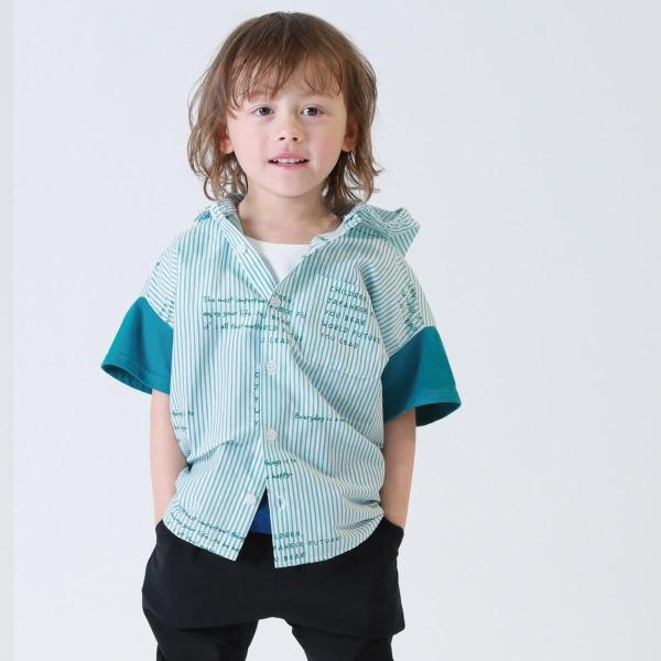 〔140cm~〕メッセージプリントシャツ/コムサフィユ(COMME CA FILLE)