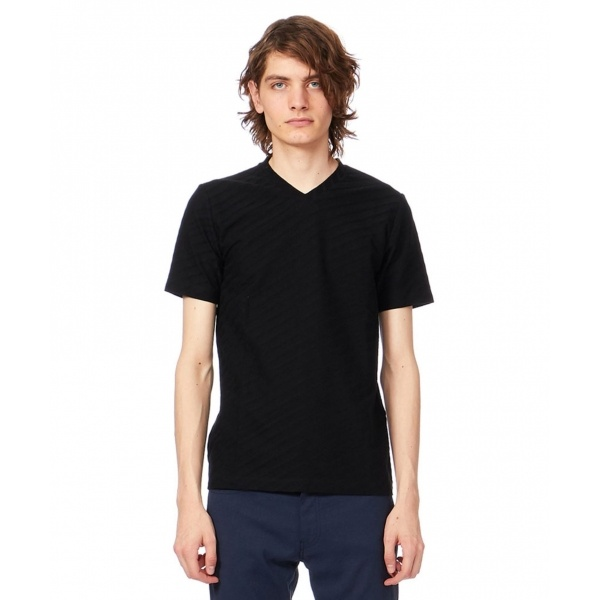 【定番】イレギュラーストライプリンクス Tシャツ/カルバン・クライン メン(Calvin Klein men)