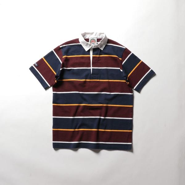 【BARBARIAN/バーバリアン】 半袖ラガーシャツ(GCSS-055 NSS10)/ノーリーズ メンズ(NOLLEY'S)