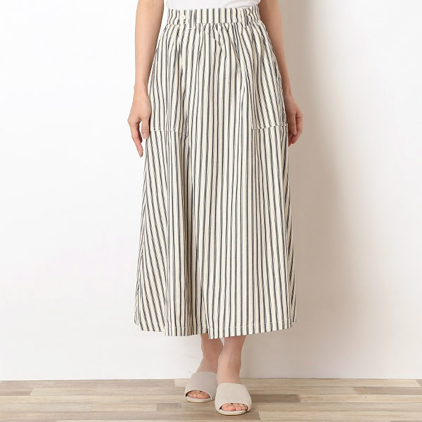 【UNIVERSAL OVERALL】VOLUME BAKER SKIRT/アドポーション(ADOPOSION)