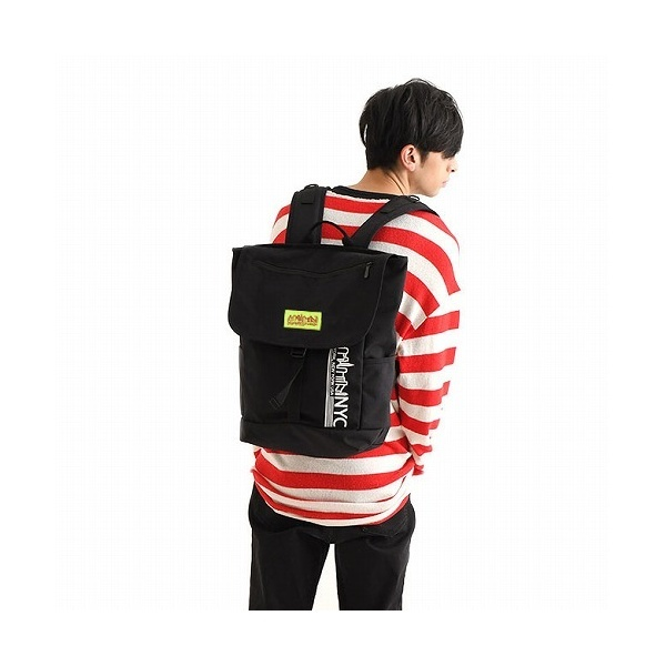 NYC Print Washington SQ Backpack/マンハッタンポーテージ(Manhattan Portage)
