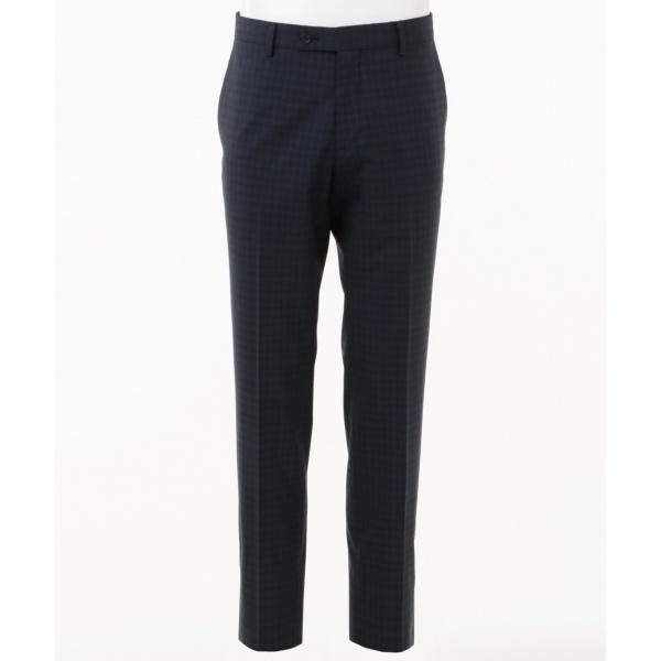 【スーツ】360スマートストレッチミニチェック スーツスラックス/カルバン・クライン メン(Calvin Klein men)