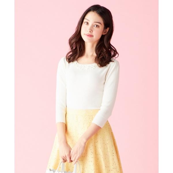 【SPRING WALTZ】FLOWER WOMAN ニット/トッカ(TOCCA)