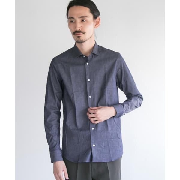 メンズシャツ(インディゴショートポイントシャツ)/アーバンリサーチ(メンズ)(URBAN RESEARCH)