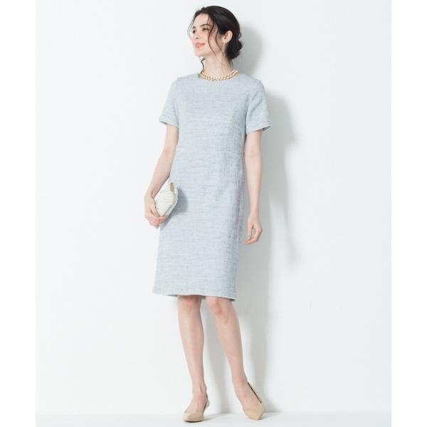 【マガジン掲載】Brilliant tweed dress ワンピース/23区(NIJYUSANKU)