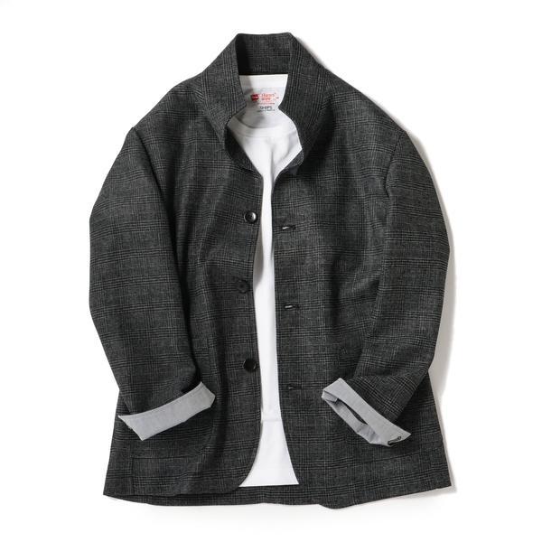 SU: カラミ スタンドカラー ジャケット/シップス(メンズ)(SHIPS)