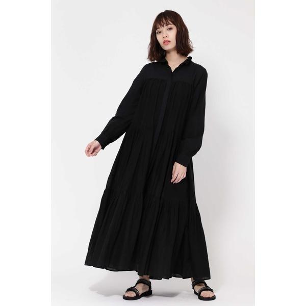 TIERED SHIRTS DRESS/ローズバッド(ROSE BUD)