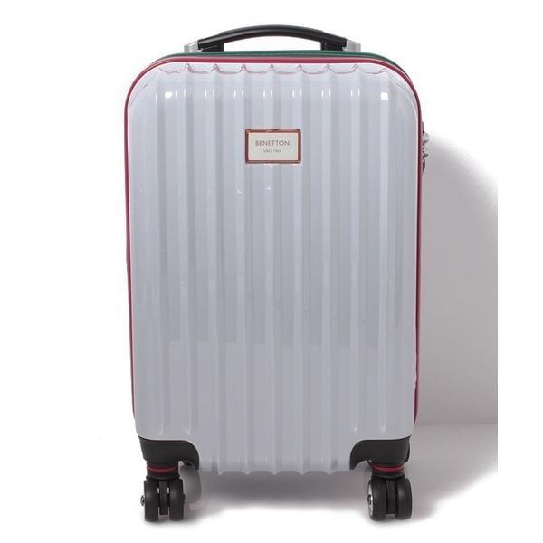 ベネトンジッパー付きキャリーケース・スーツケース(S)機内持込可容量約36LTSAロック/ベネトン レディース(UNITED COLORS OF BENETTON)