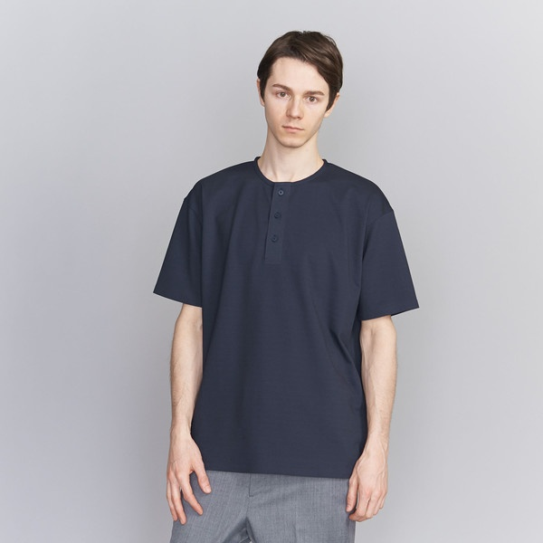 <DESCENTE PAUSE> HENLY NECK TEE/Tシャツ/ビューティ&ユース ユナイテッドアローズ(メンズ)(BEAUTY&YOUTH)