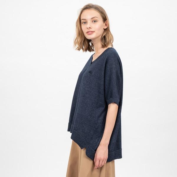 インディゴサマーニットTシャツ/ラコステ(LACOSTE)