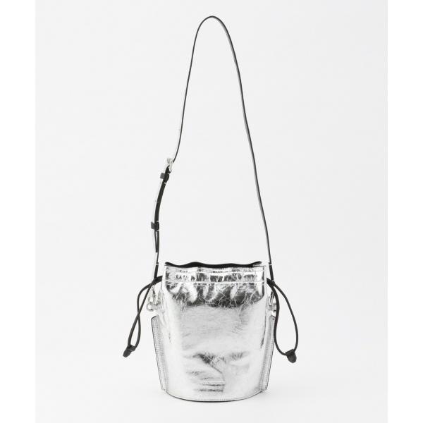 【メタリック】バケツ型 ミニショルダーバッグ/カルバン・クライン ウィメン(Calvin Klein women)