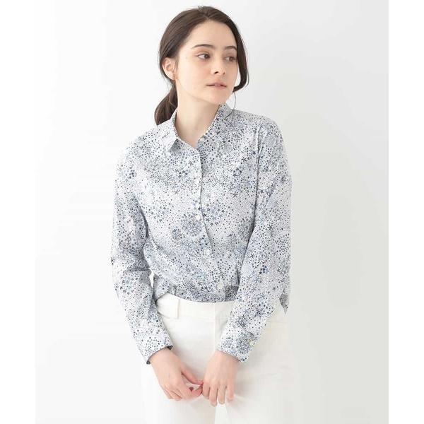 【洗える】【LIBERTY】デザインシャツ/ジョルジュ・レッシュ(GEORGES RECH)