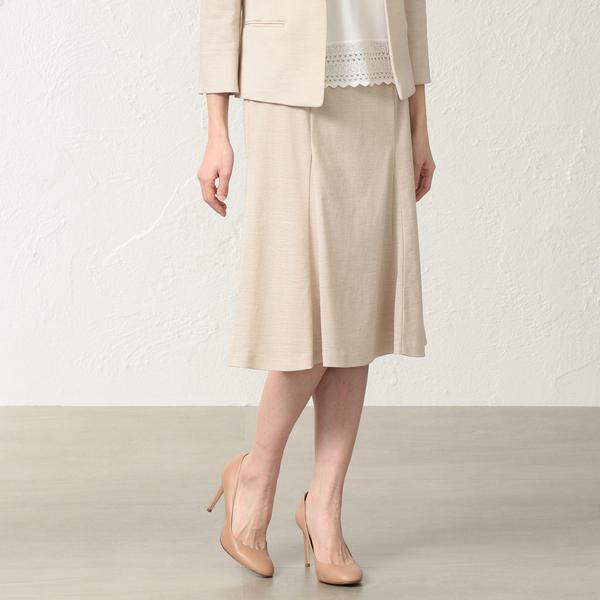 【美Skirt】【セットアップ対応】ラミーカノコスカート/トランスワーク(TRANS WORK)