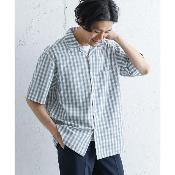 メンズシャツ(GYMPHLEX 2COLOR オープンカラーシャツ)/アーバンリサーチ ドアーズ(メンズ)(URBAN RESEARCH DOORS)