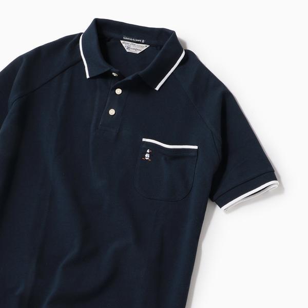 MUNSINGWEAR: 別注 MADE IN USA 60'S 復刻 ライン ポロシャツ 19SS/シップス(メンズ)(SHIPS)