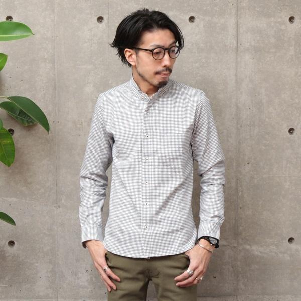 ストレッチドビーチドリワンピースカラーシャツ/メンズメルローズ(MEN'S MELROSE)