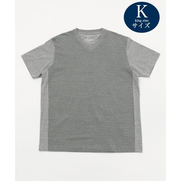 【JOE COTTON・キングサイズ】サッカー Tシャツ/ジョセフ アブード(JOSEPH ABBOUD)