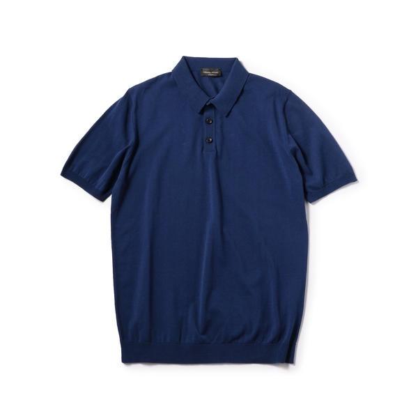 ROBERTO COLLINA: クレープ コットン ポロシャツ/シップス(メンズ)(SHIPS)