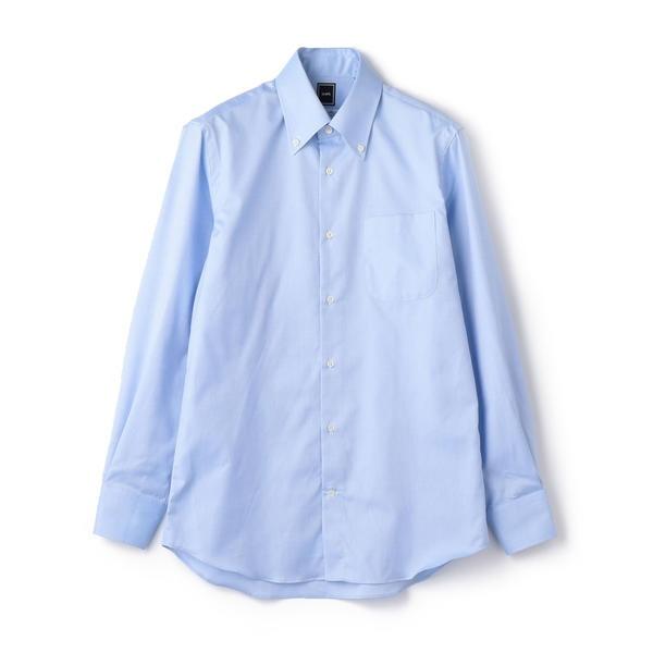 SD: ALBINIオックスフォード ロイヤル ソリッド ボタンダウンシャツ(ライトブルー)/シップス(メンズ)(SHIPS)