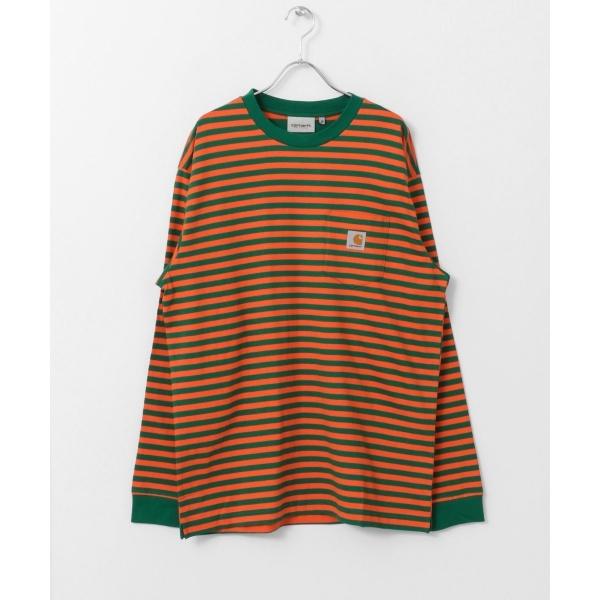 メンズTシャツ(carhartt LONG-SLEEVE BARKLEY POCKET T-SHIRTS)/アーバンリサーチ サニーレーベル(メンズ)(URBAN RESEARCH Sonny Label)