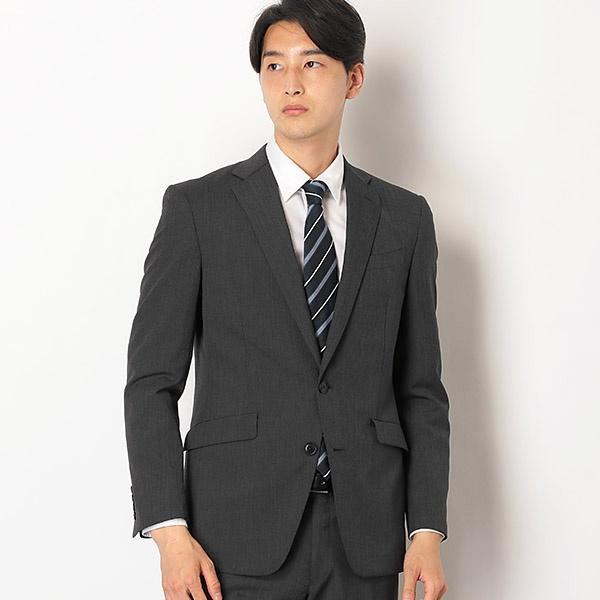 2釦シングルスーツ 0タック/ストライプ/ウォッシャブルパンツ【KSW MODEL】/スーツセレクト(メンズ)(SUIT SELECT)
