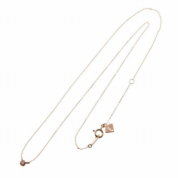 10金一粒トパーズペンダント/エレノアジュエリー(Elenore Jewelry)
