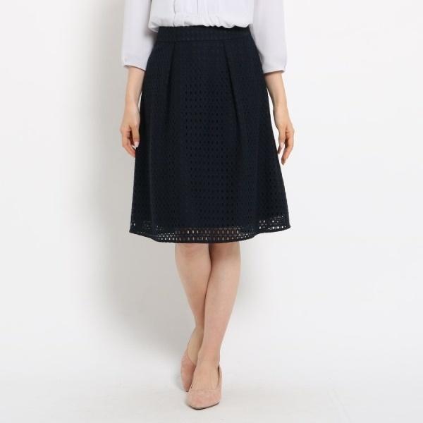 (Reflect) ジオメレーススカート/ ◆ リフレクト 【洗える】