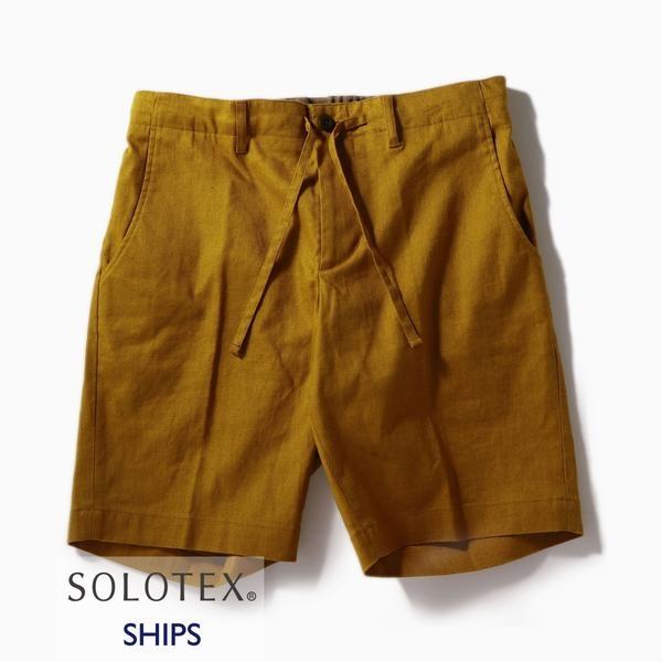 SC: SOLOTEX(R) サフィラン リネン ハイブリッド イージー ショーツ/シップス(メンズ)(SHIPS)