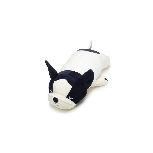 ねむねむ アニマルズ ブブル 抱き枕 BIG フレンチブルドック 超特大 ぬいぐるみ/パーフェクト・ワールド・トーキョー(Perfect World Tokyo)