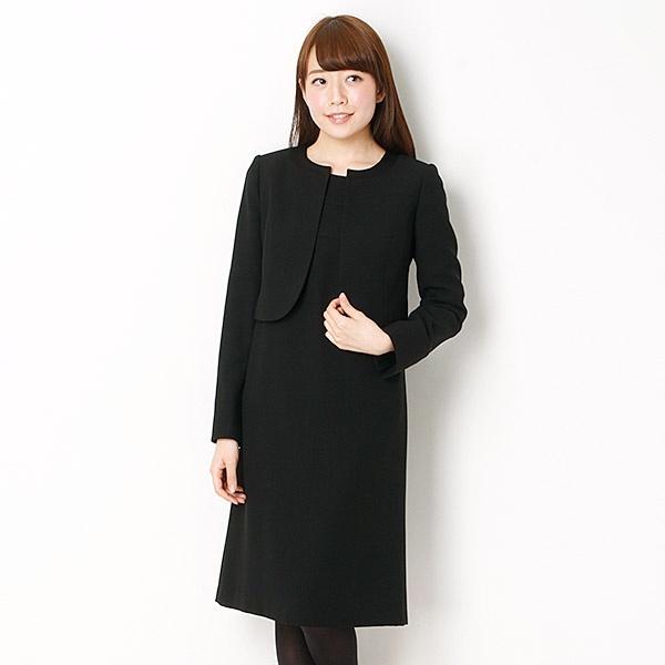 【ブラックフォーマル】スーツ/喪服/ソワールペルル/東京ソワール/東京ソワール(ブラックフォーマル)(TOKYO SOIR BLACK FORMAL)