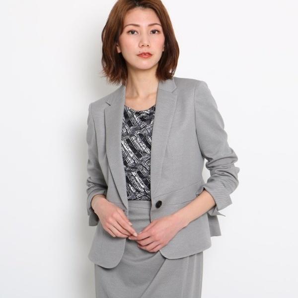 【洗える】裾フレアジャケット/クード シャンス(COUP DE CHANCE)