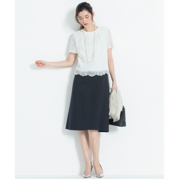 【機能性あり】COOL WASHABLE スカート(検索番号H24)/自由区(JIYUKU)