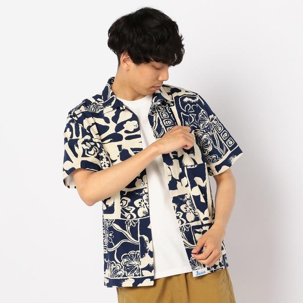 【Jams/ジャムス】オープンカラーシャツ/フレディ&グロスター メンズ(FREDY&GLOSTER)