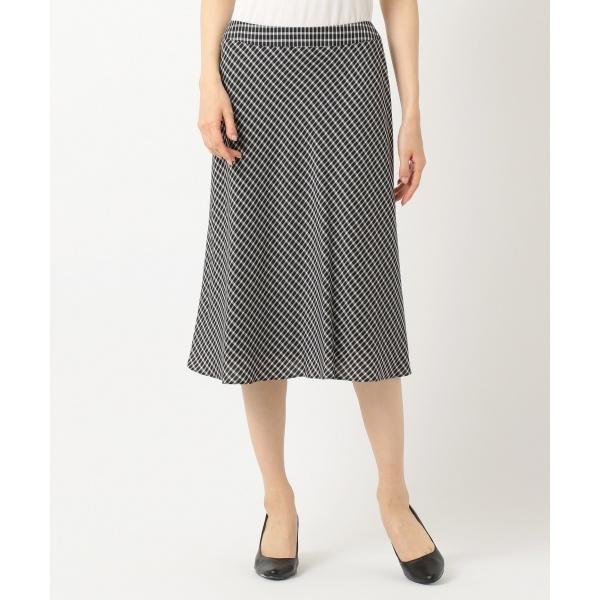 【洗える】ギンガムチェック スカート/ジェーン モア L(JANE MORE L)