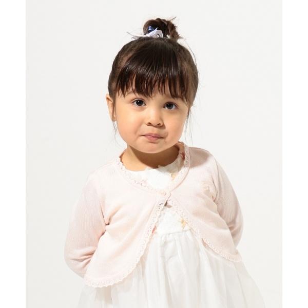 【BABY】CrochetRibbon フラワーモチーフ カーディガン/トッカ バンビーニ(TOCCA BAMBINI)