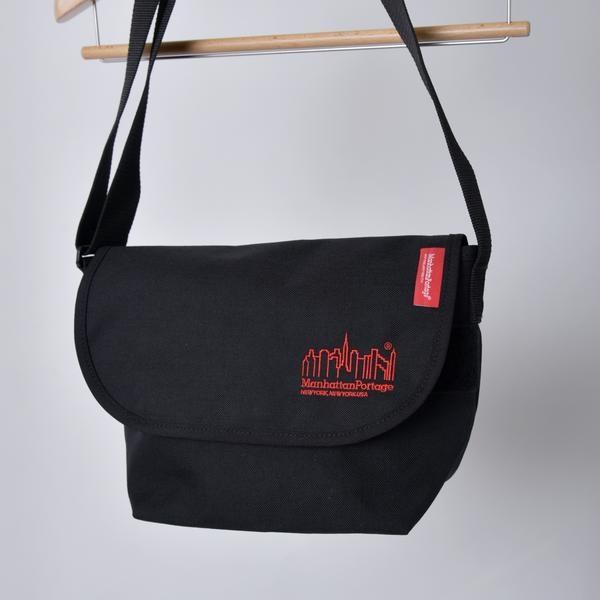 Manhattan Portage: 別注 Embroidery Messenger Bag JR/シップス(メンズ)(SHIPS)