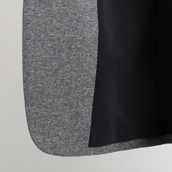 S コットンノーカラージャケット インディヴィ INDIVIoxBedC