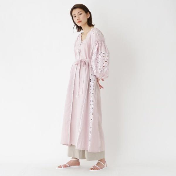 SLEEPING GYPSY(スリーピングジプシー)刺繍ガウンワンピース/ドレステリア(レディス)(DRESSTERIOR Ladies)