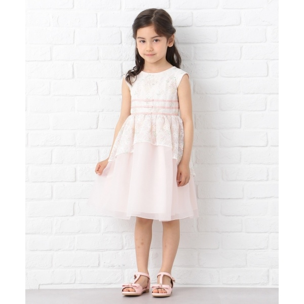 【KIDS】Blue Lace Flower ワンピース/トッカ バンビーニ(TOCCA BAMBINI)
