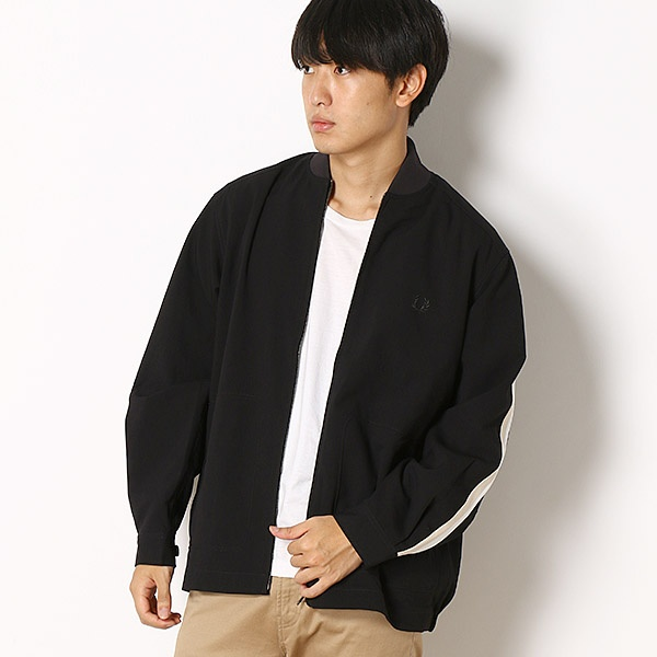 SIDE TAPED BOMBER JACKET/フレッドペリー(メンズ)(FRED PERRY)